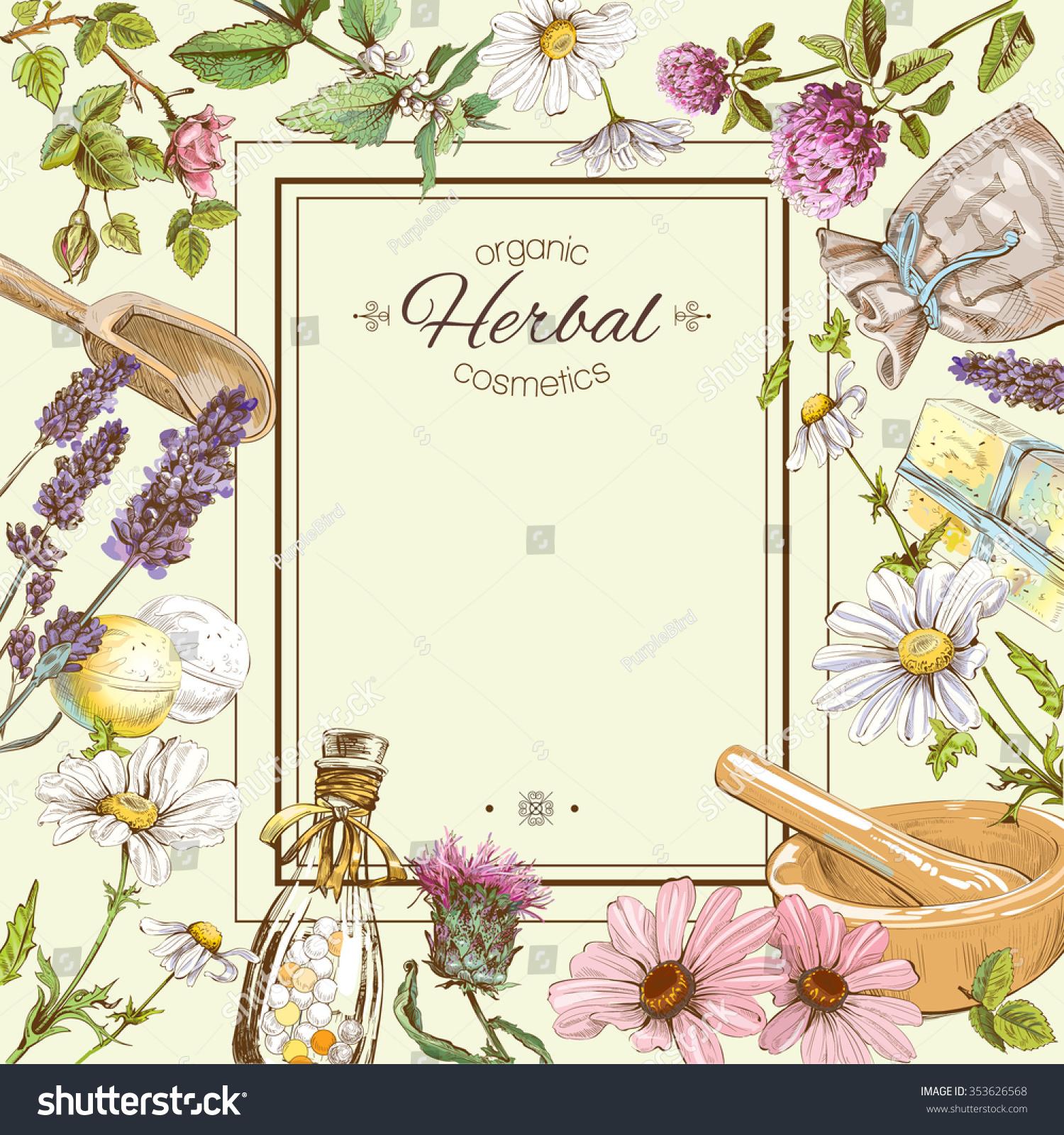 Vintage Flower Layout 107