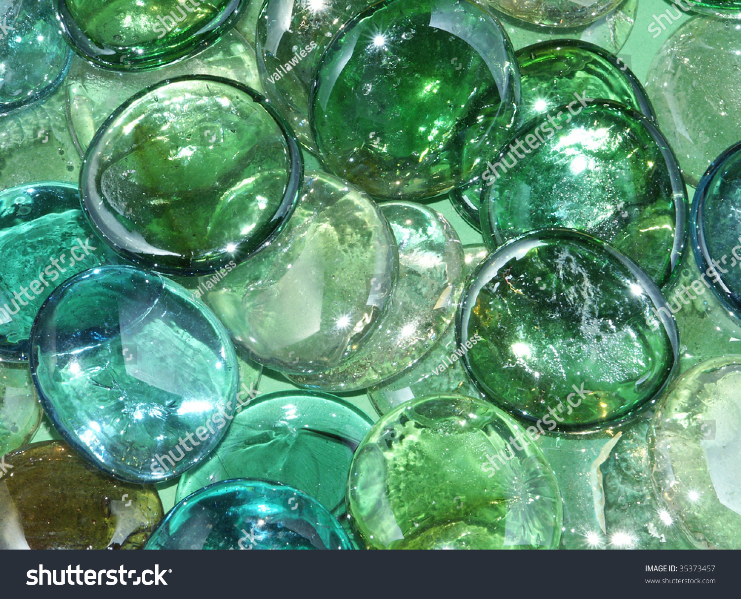 Green Glass Marble : Green glass marbles stock photo shutterstock