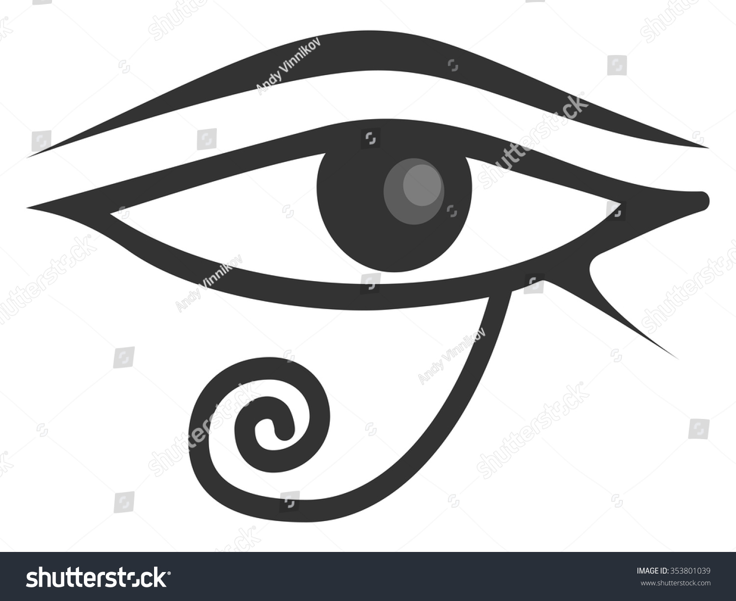eye of ra and eye of horus