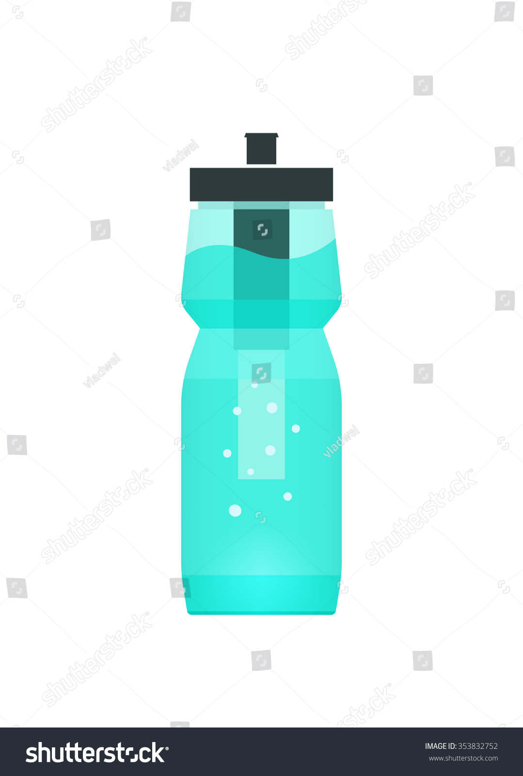 water filtration bottle for sport and travel concept of portable filtering technology
