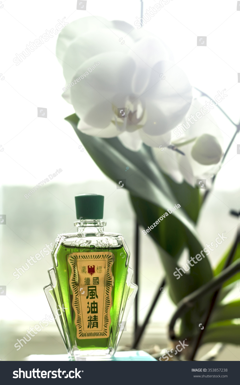 Eagle Brand Medicated Oil Singapoore Thailand Stock Photo Edit Now