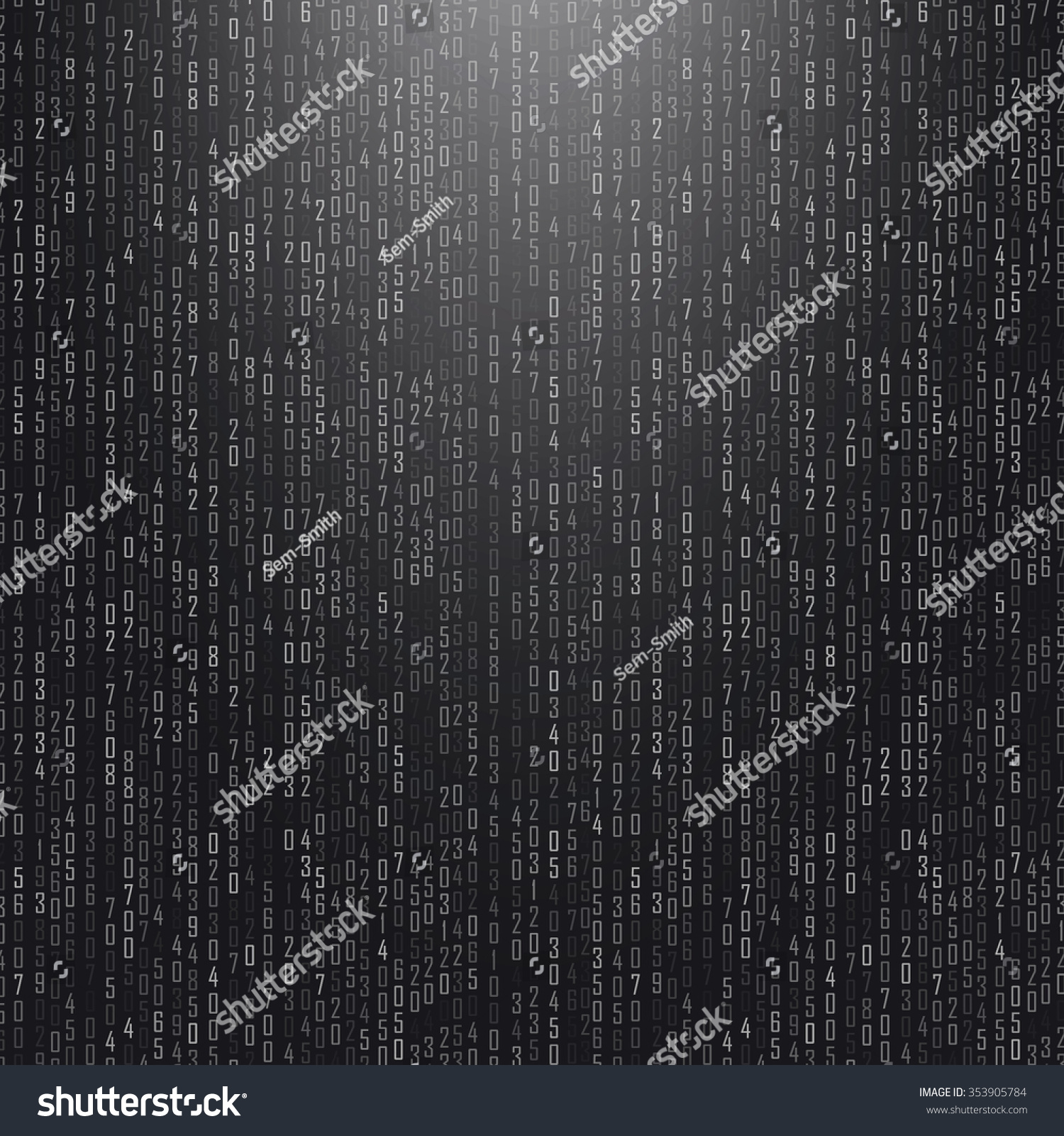 Abstract Composition Math Technology Startup Screen Stock Vector ...