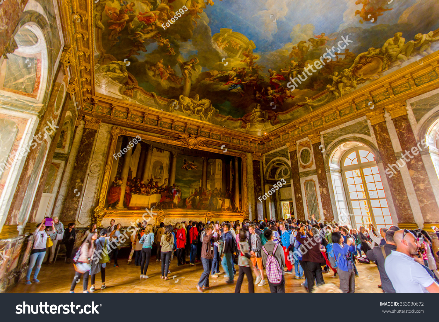 paris france june 1 2015 salon stock photo 353930672