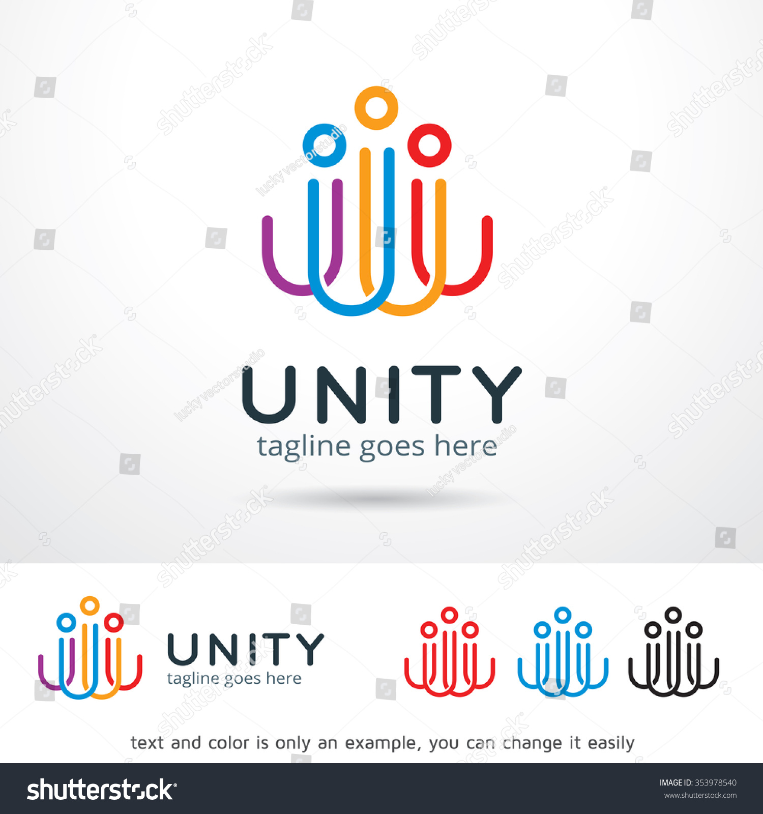 Unity Logo Design Free Download