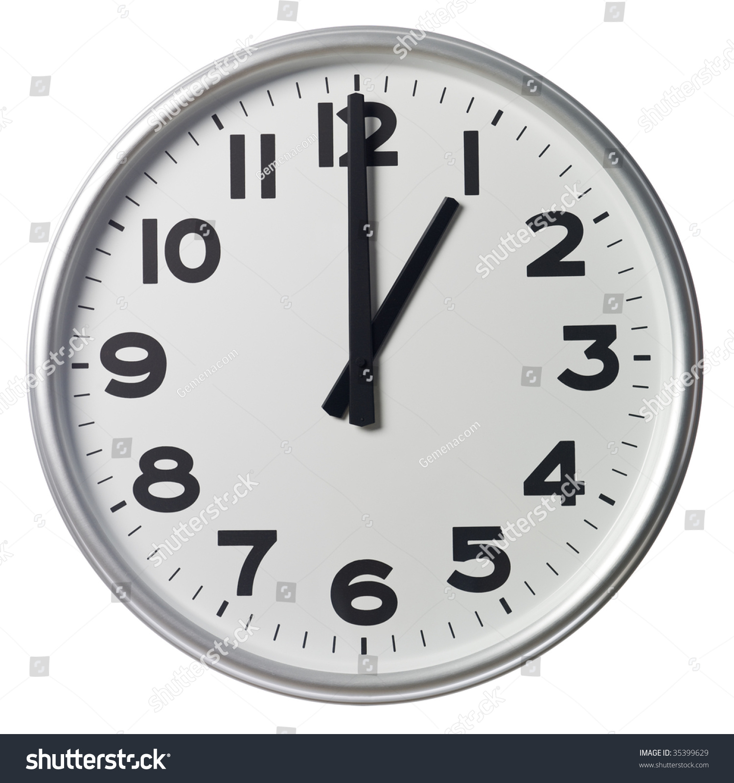 One Oclock Stock Photo 35399629 - Shutterstock