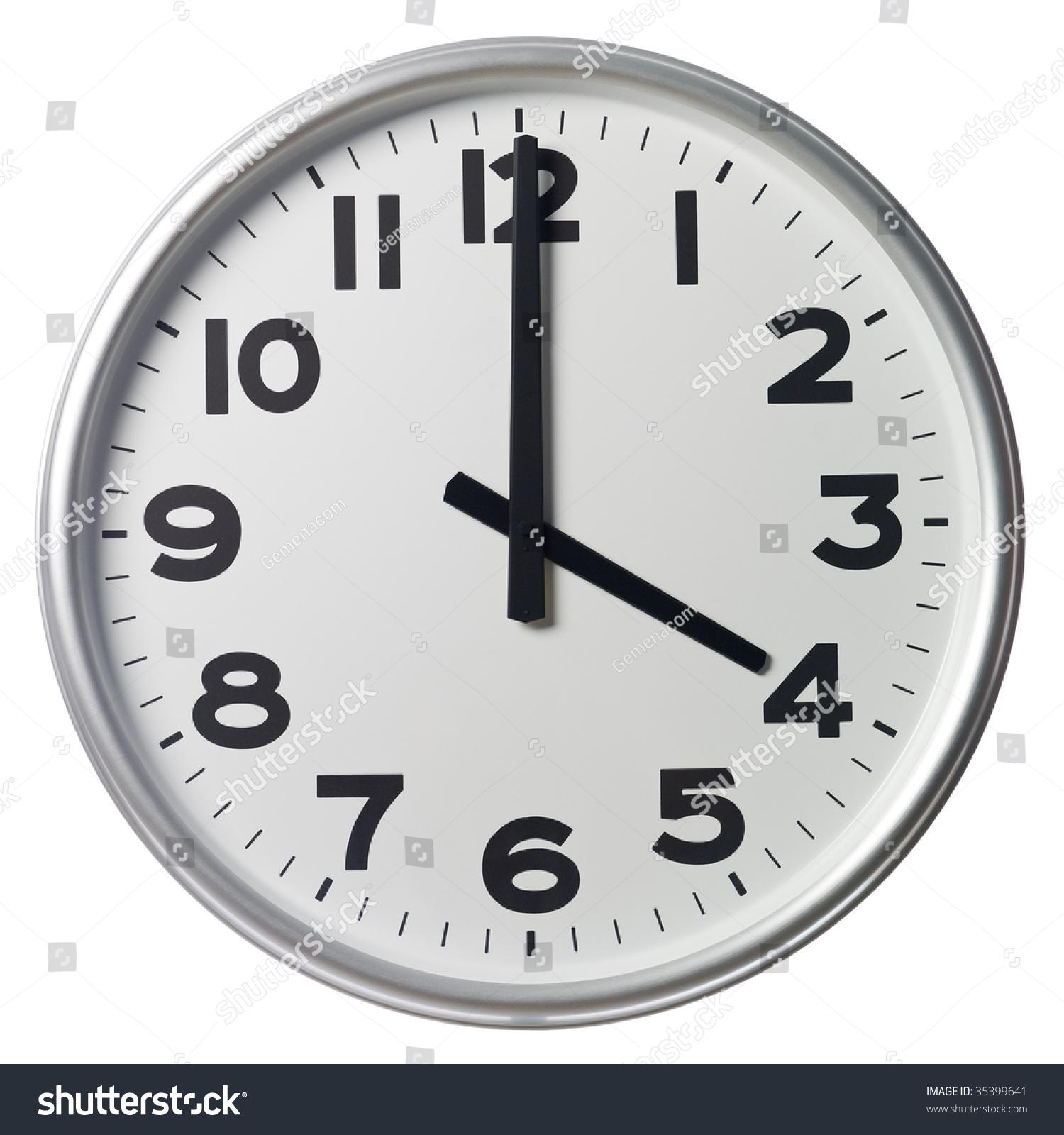 Four O'Clock Stock Photo 35399641 : Shutterstock