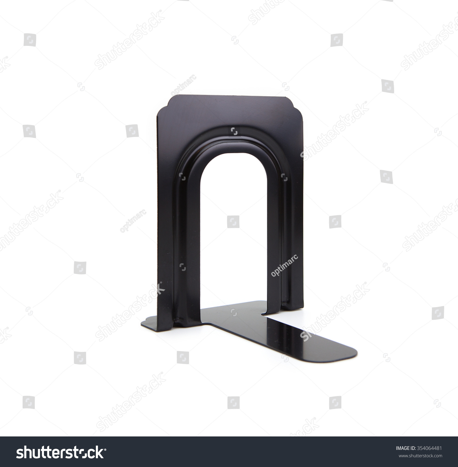 black iron book stand book end stock photo shutterstock