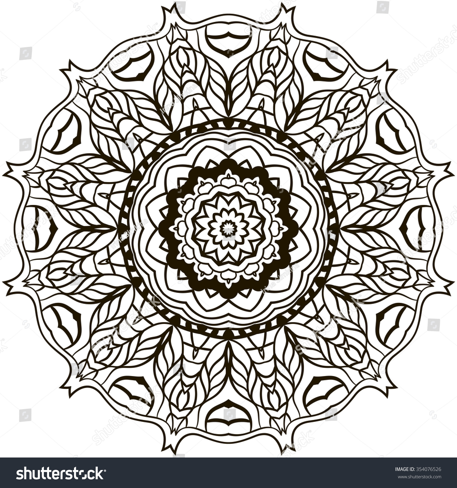 Mystical mandala coloring pages - Adult Mystical Mandala Coloring Pages Mystic Mandalas I Can Do Thatmystical Extra Medium Size