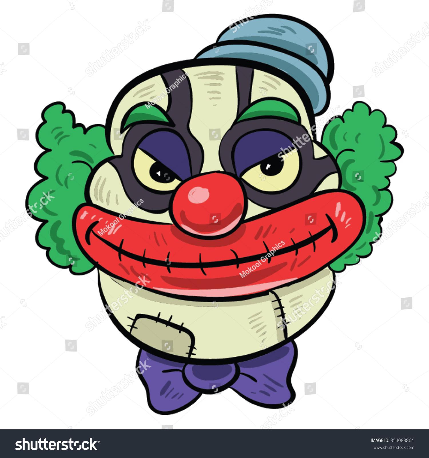 how to create an evil twin clown