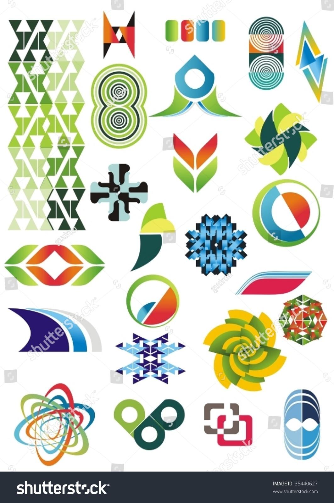 Vector Floral Ornaments Graphic Design, Vectors - 365PSD.com