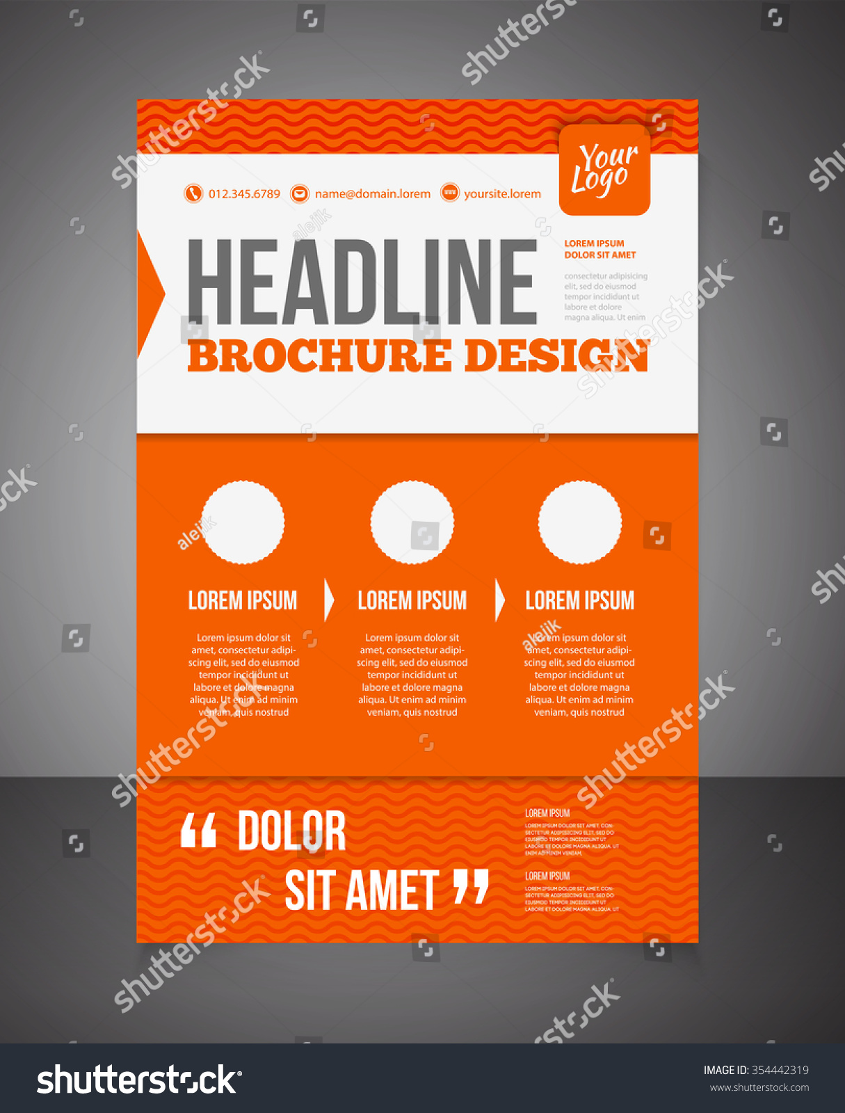 Doc 528197 Word Brochure Template Free Brochure