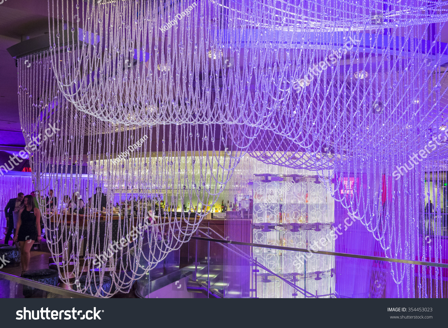 Las vegas dec 18 chandelier bar stock photo 354453023 shutterstock arubaitofo Image collections