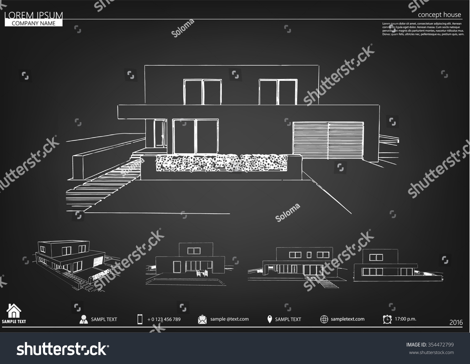 Wireframe blueprint drawing 3 d building vector stock vector wireframe blueprint drawing of 3d building vector architectural template background architectural drawing architectural malvernweather Image collections