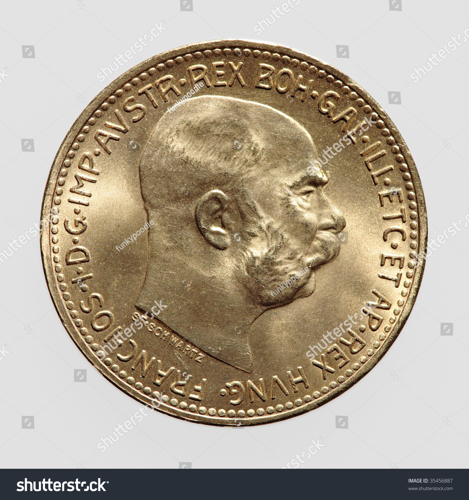 Stock Photo Gold Coin