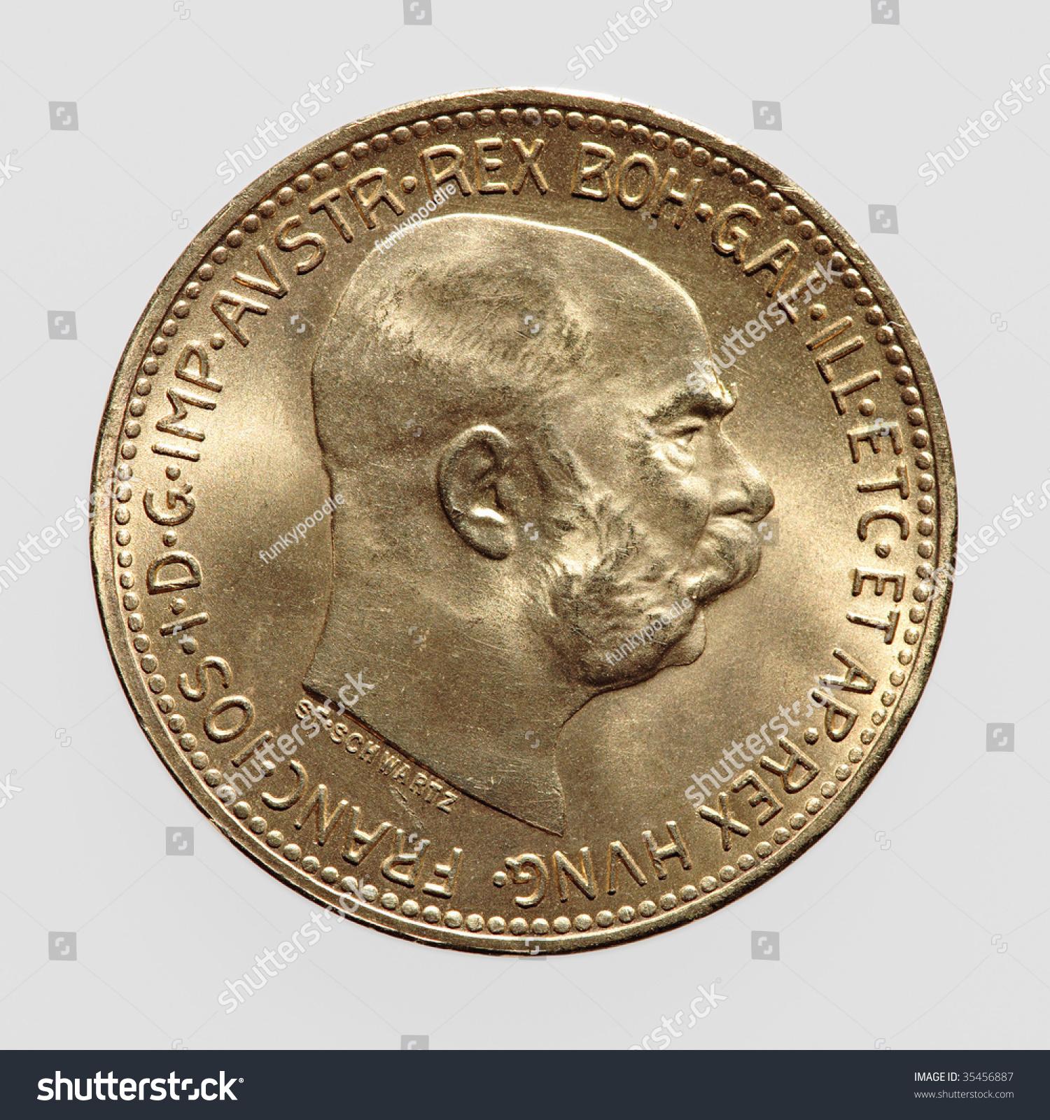 Stock Photo Gold Coin
