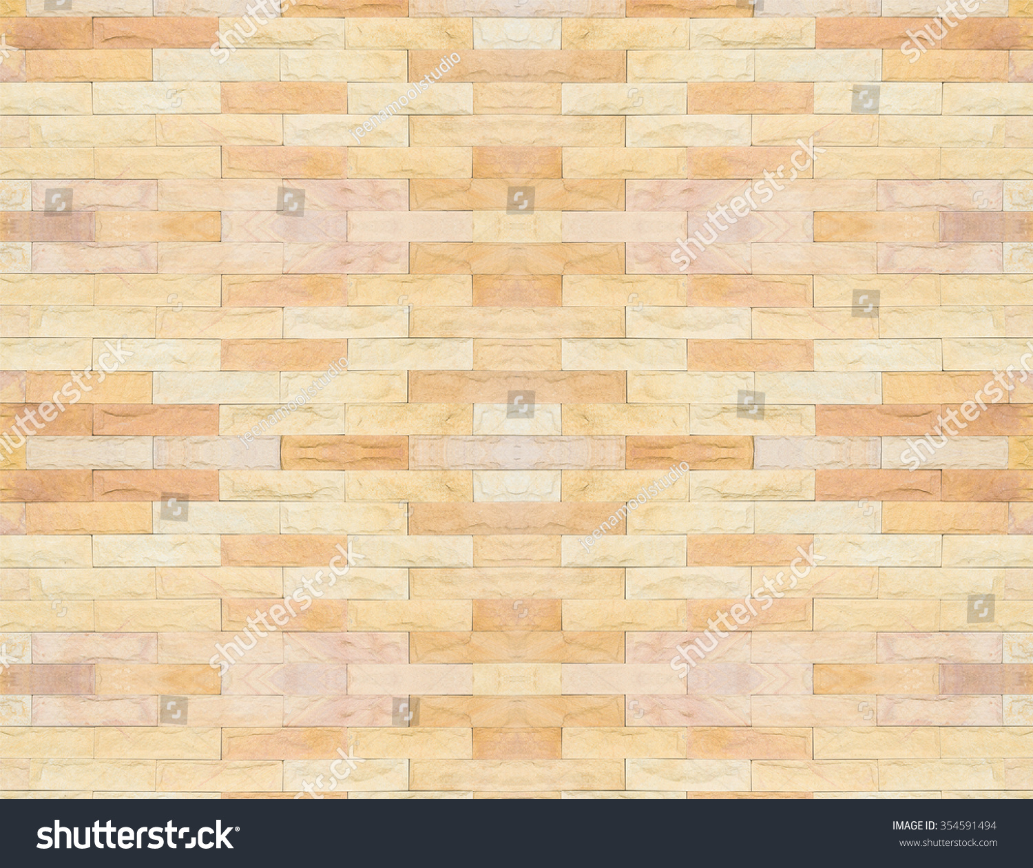 Brick Wall Beautiful Color Texture Background Stock Photo & Image ...