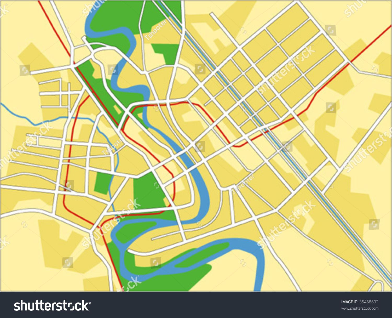vector map of baghdad