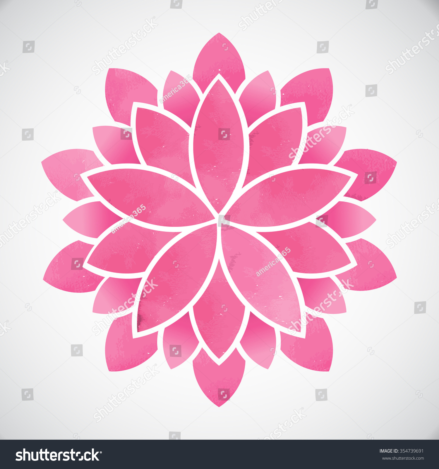 Lotus flower watercolor style vector graphic design stock vector lotus flowerwatercolor style vector graphic design izmirmasajfo
