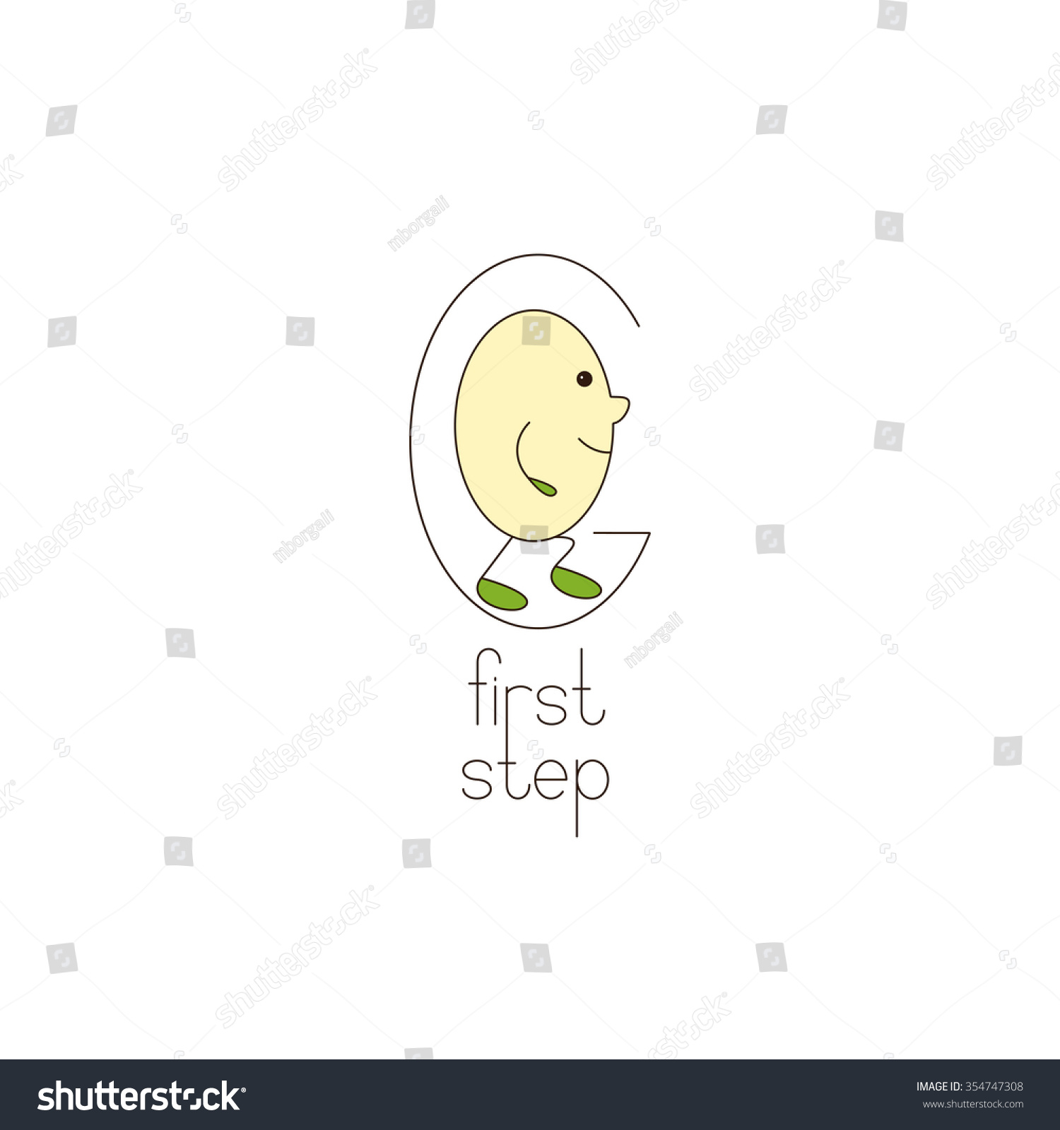 Go logo template letter g letter stock illustration royalty free go logo template with letter g and letter o with legs and hands inside it maxwellsz