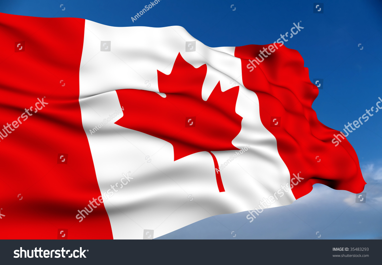 canadian flag stock illustration 35483293 shutterstock