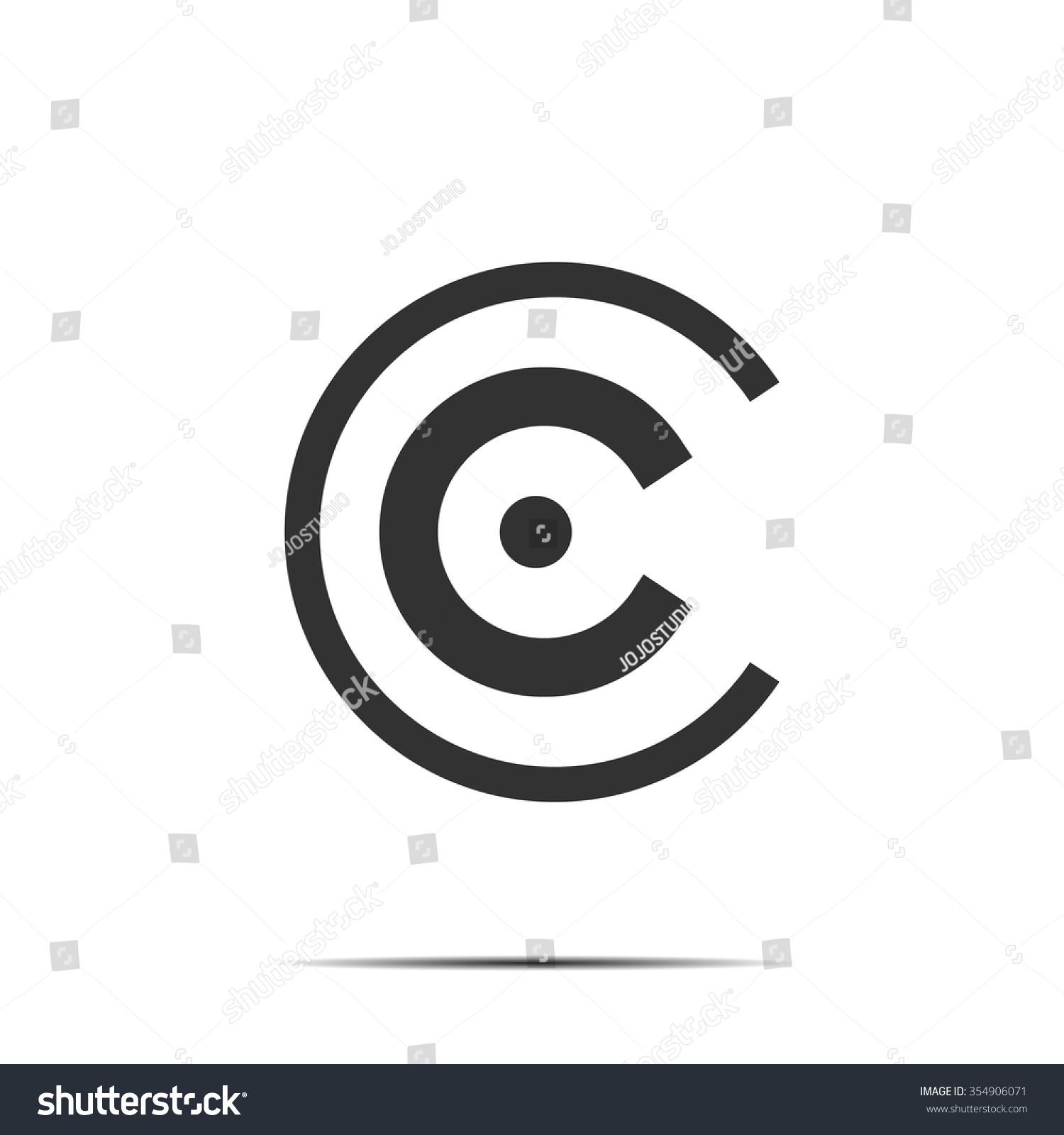 Logo Business Concept Letter C Design Stock Vector 354906071 ...