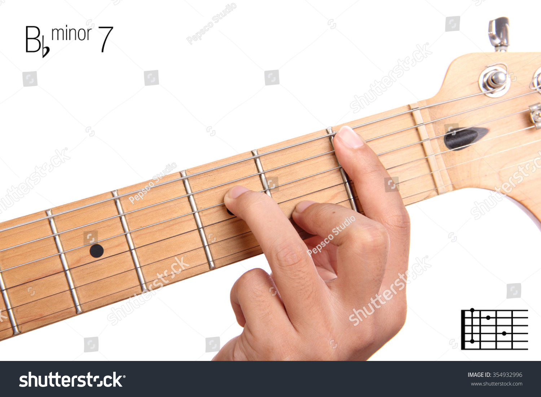 Royalty Free Bbm7 Minor Seventh Keys Guitar 354932996 Stock