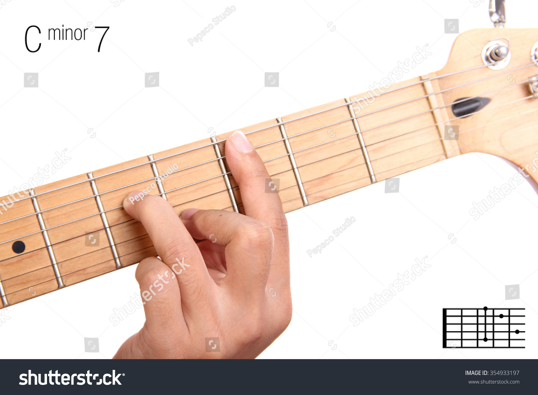 Cm15 Minor Seventh Keys Guitar Tutorial Stock Photo Edit Now ...