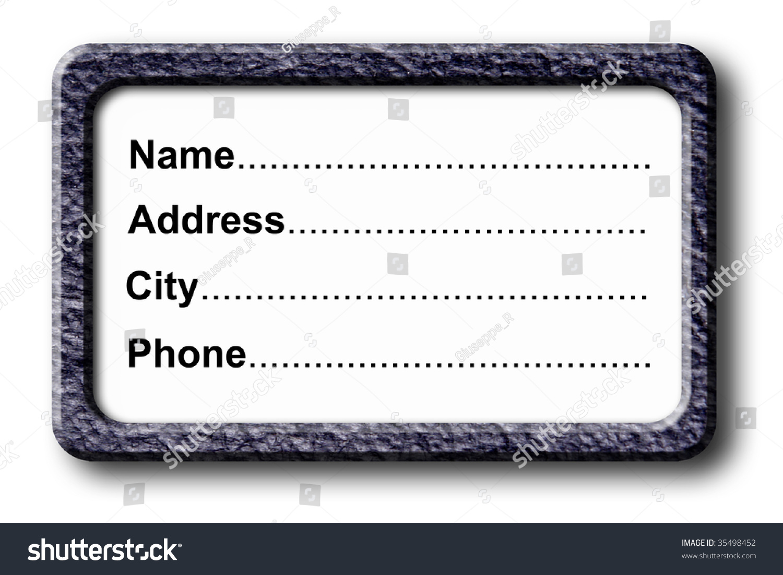 address and phone