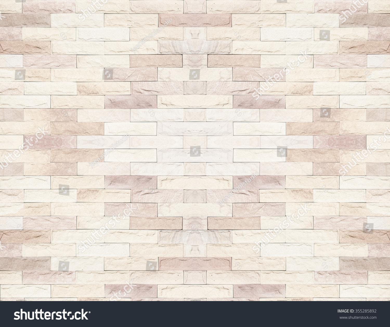 Brick Wall Beautiful Colour Texture Background Stock Photo