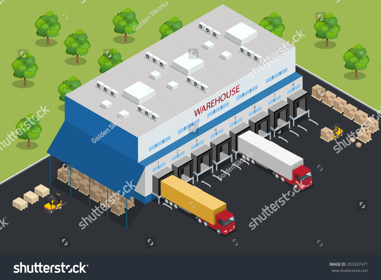 Warehouse building warehouse exterior warehouse web for Warehouse layout template