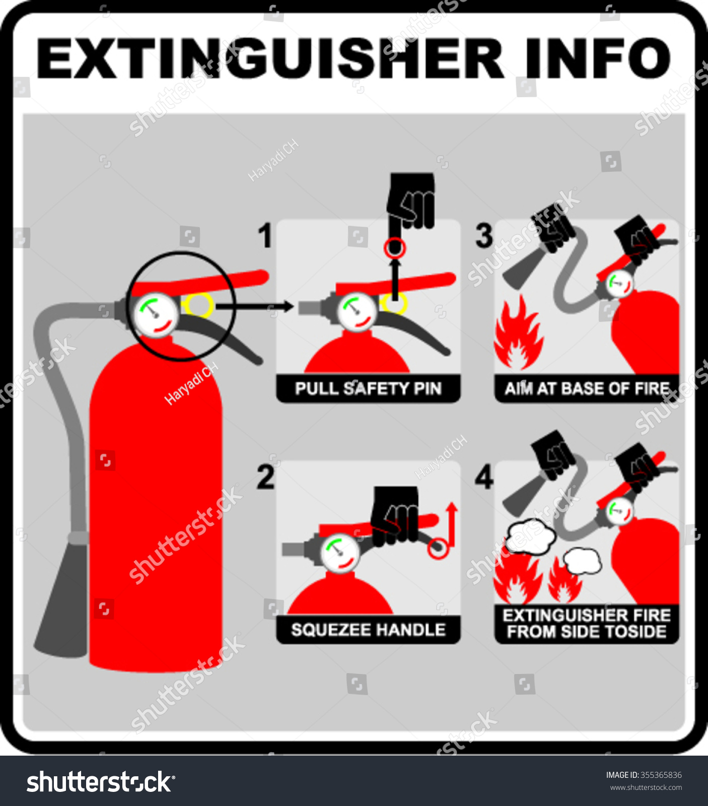 fire extinguisher essay I where a fire extinguisher has been used for any purpose other than that of a fire extinguisher when should a fire extinguisher be used.