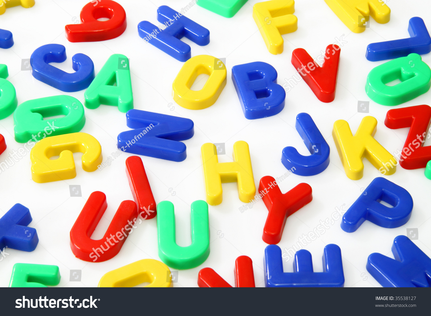 plastic magnetic letters and numbers