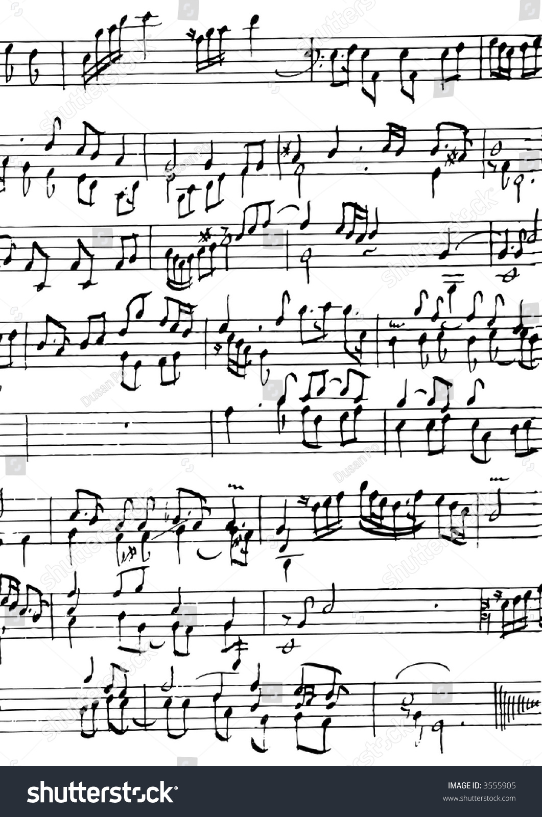 Music notes symbols manuscript vector illustration stock vector music notes and symbols manuscript vector illustration biocorpaavc Gallery