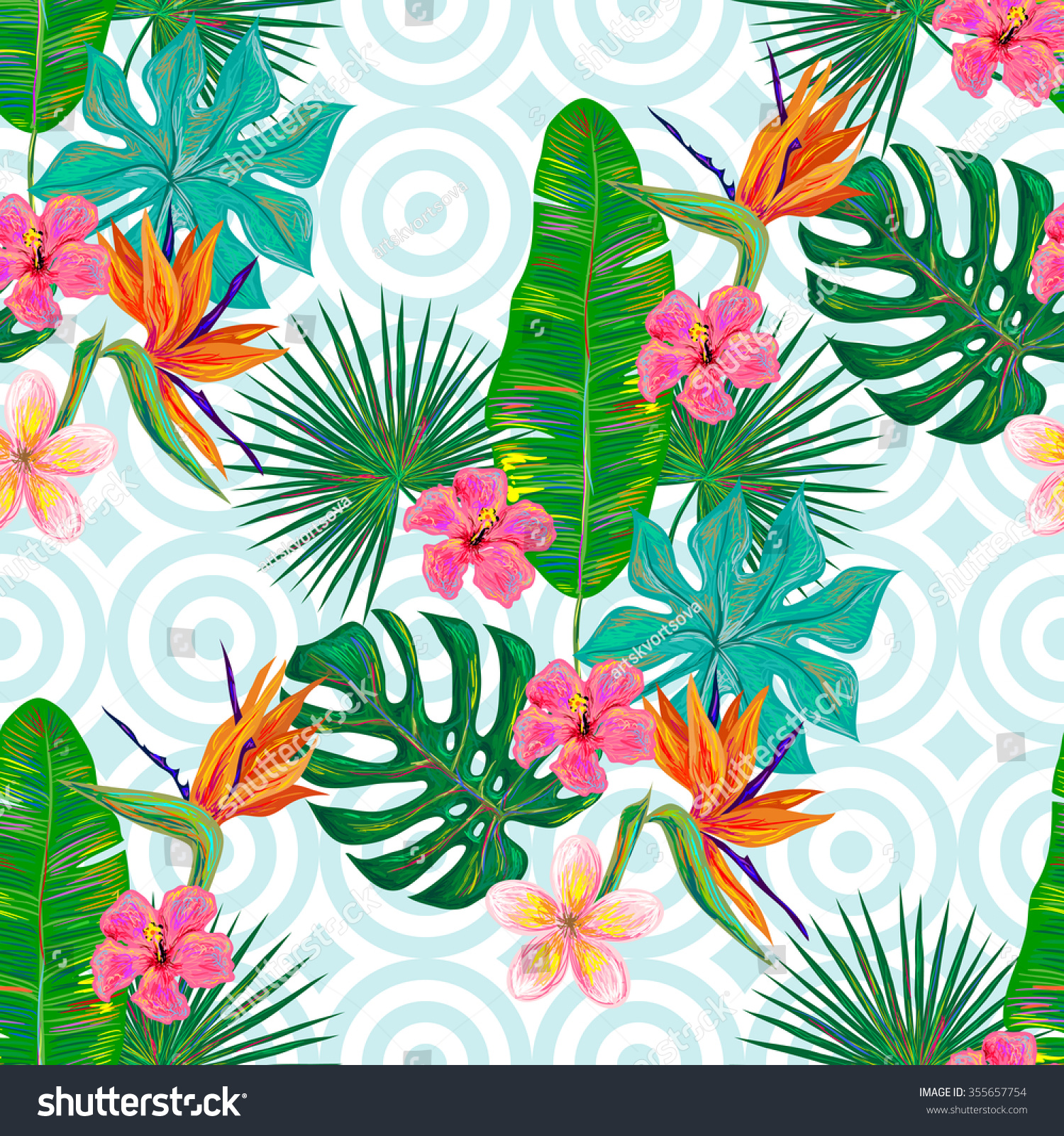 tropical wallpaper pattern - photo #20