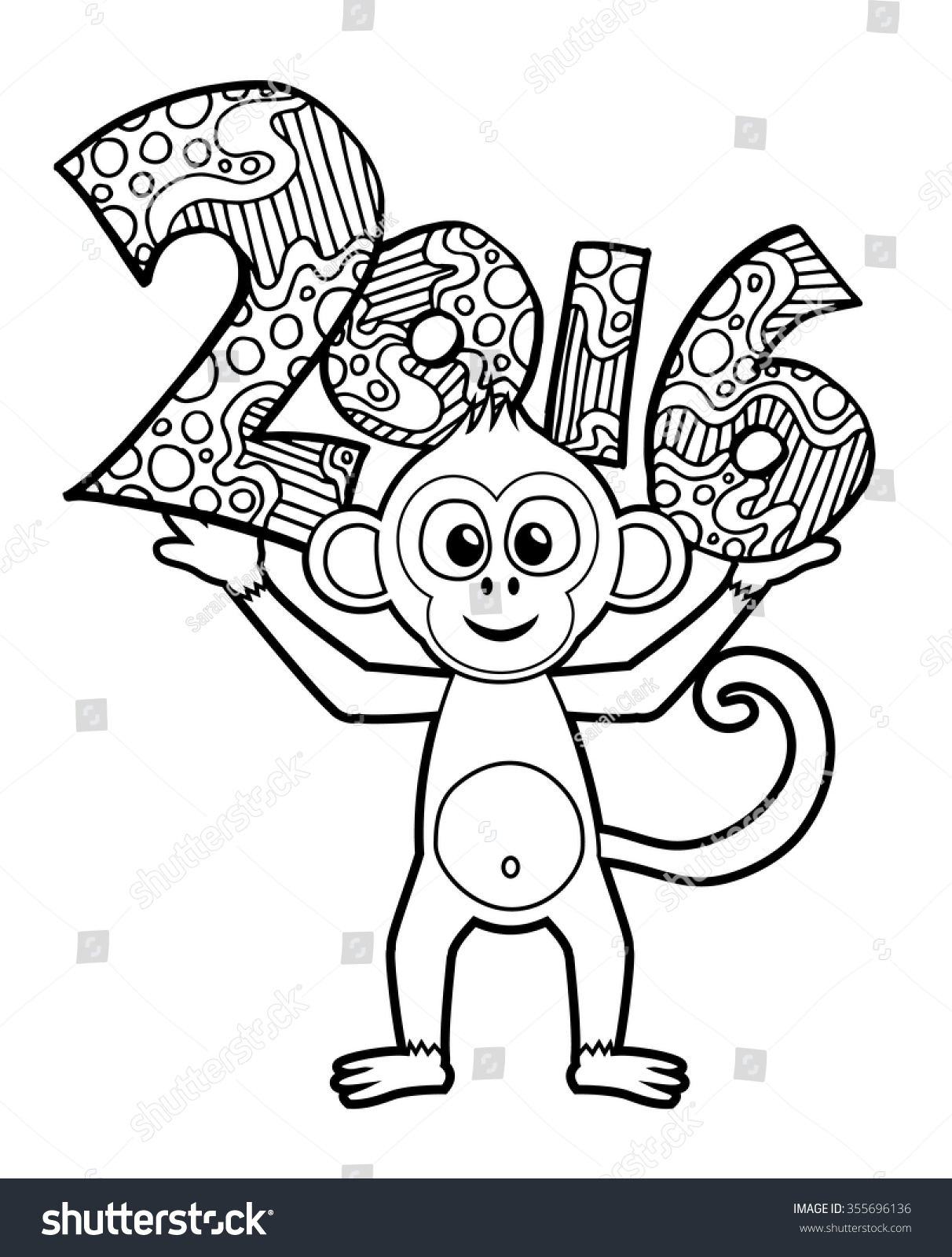 Preschool New Years Coloring Pages With Chinese Year