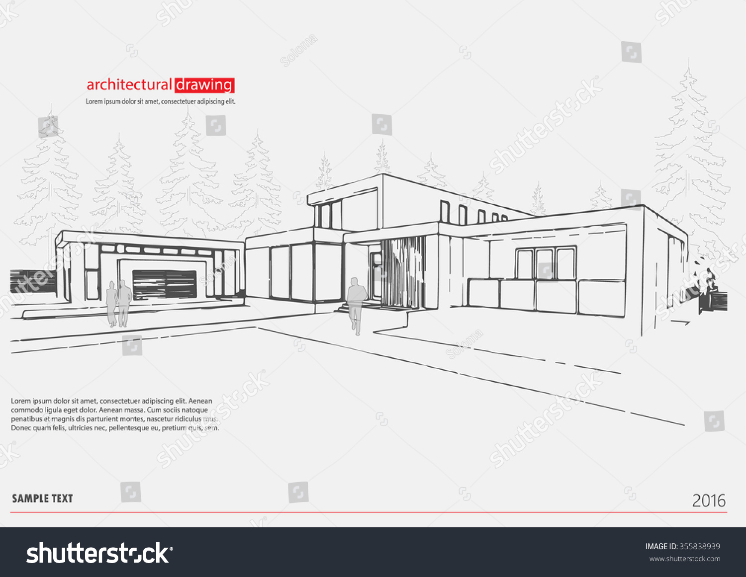 Classy 10+ Architecture Drawing Template Decorating Design Of 15+ ...