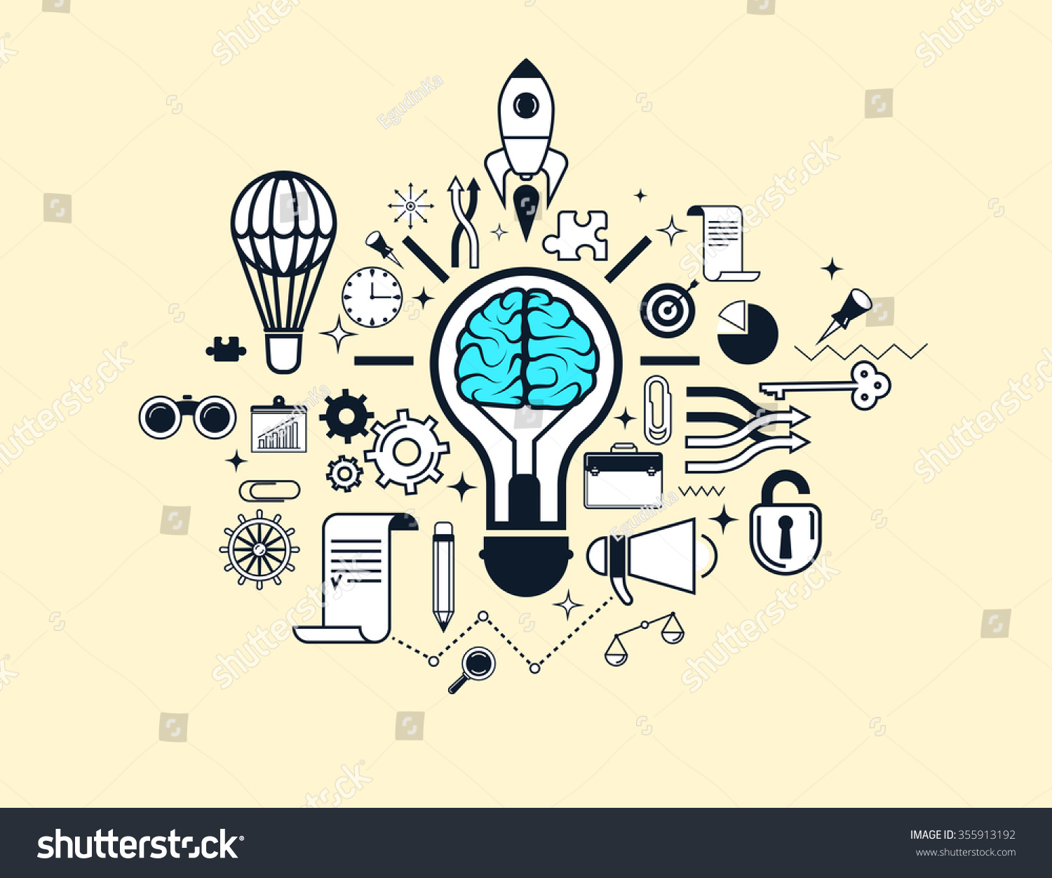 elements for web design or presentation 355913192 shutterstock