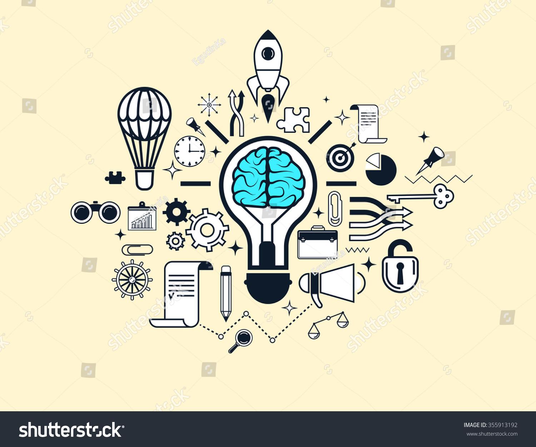 concept success business innovative idea creative stock