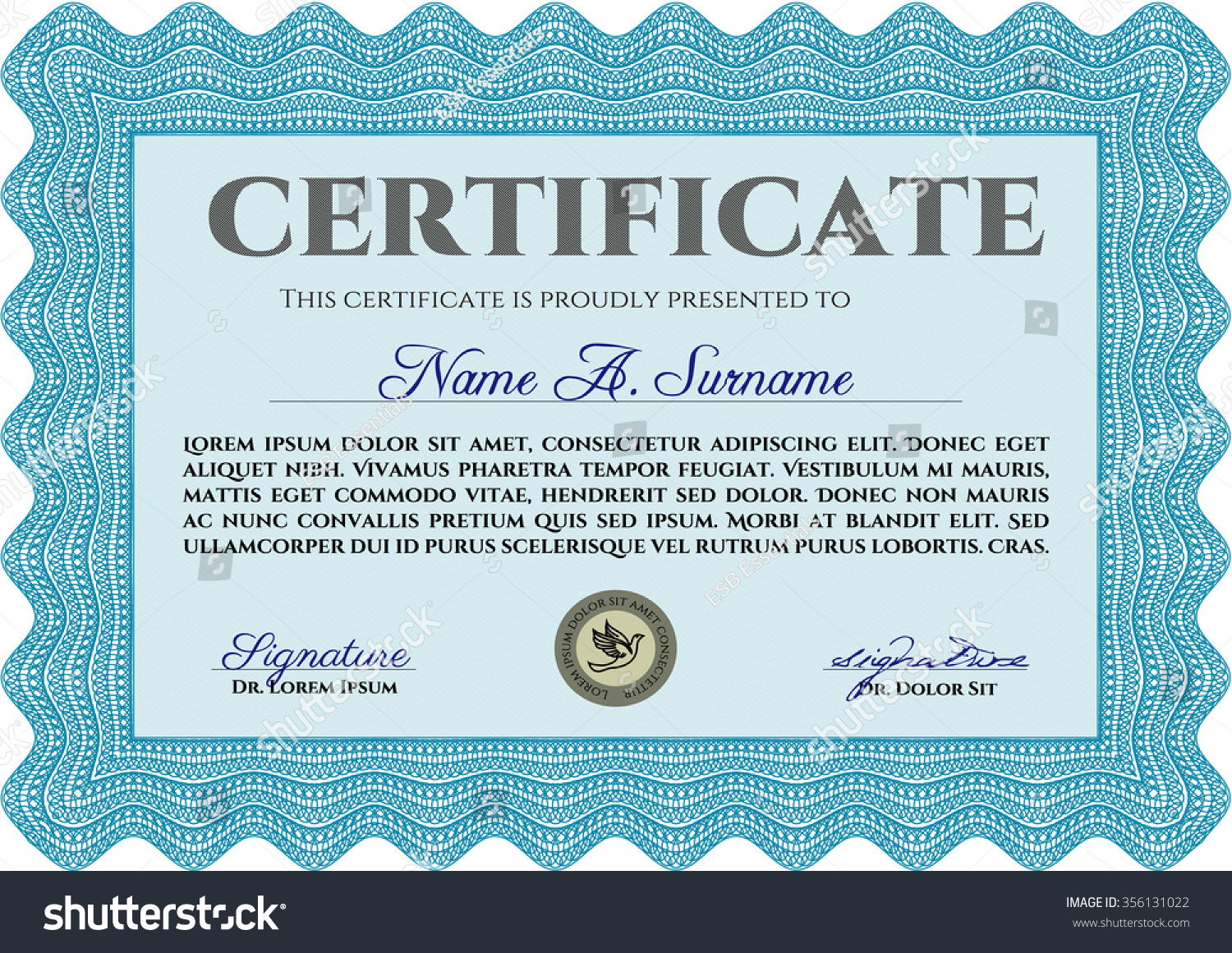 certificate template diploma template complex background stock  certificate template or diploma template complex background artistry design money style