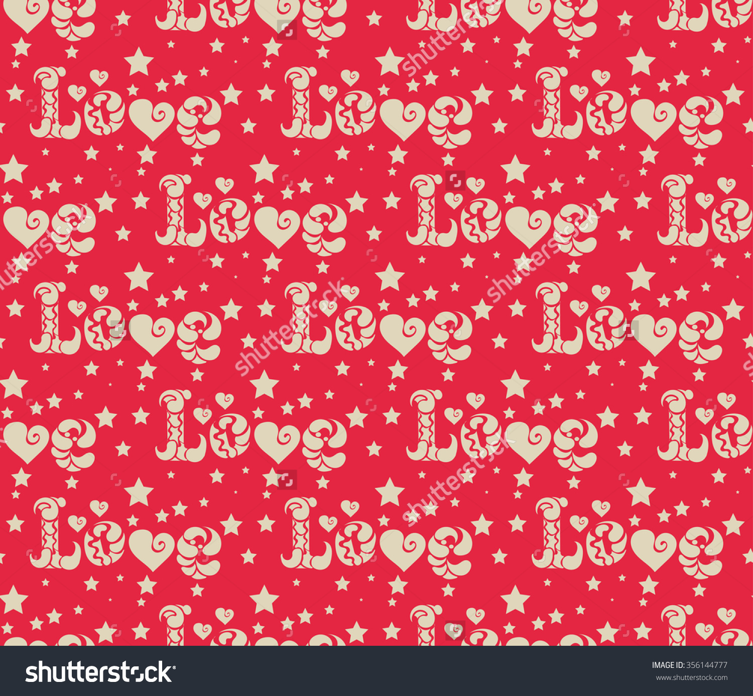 Valentine Paper valentine card made of red paper hearts stock vector ...