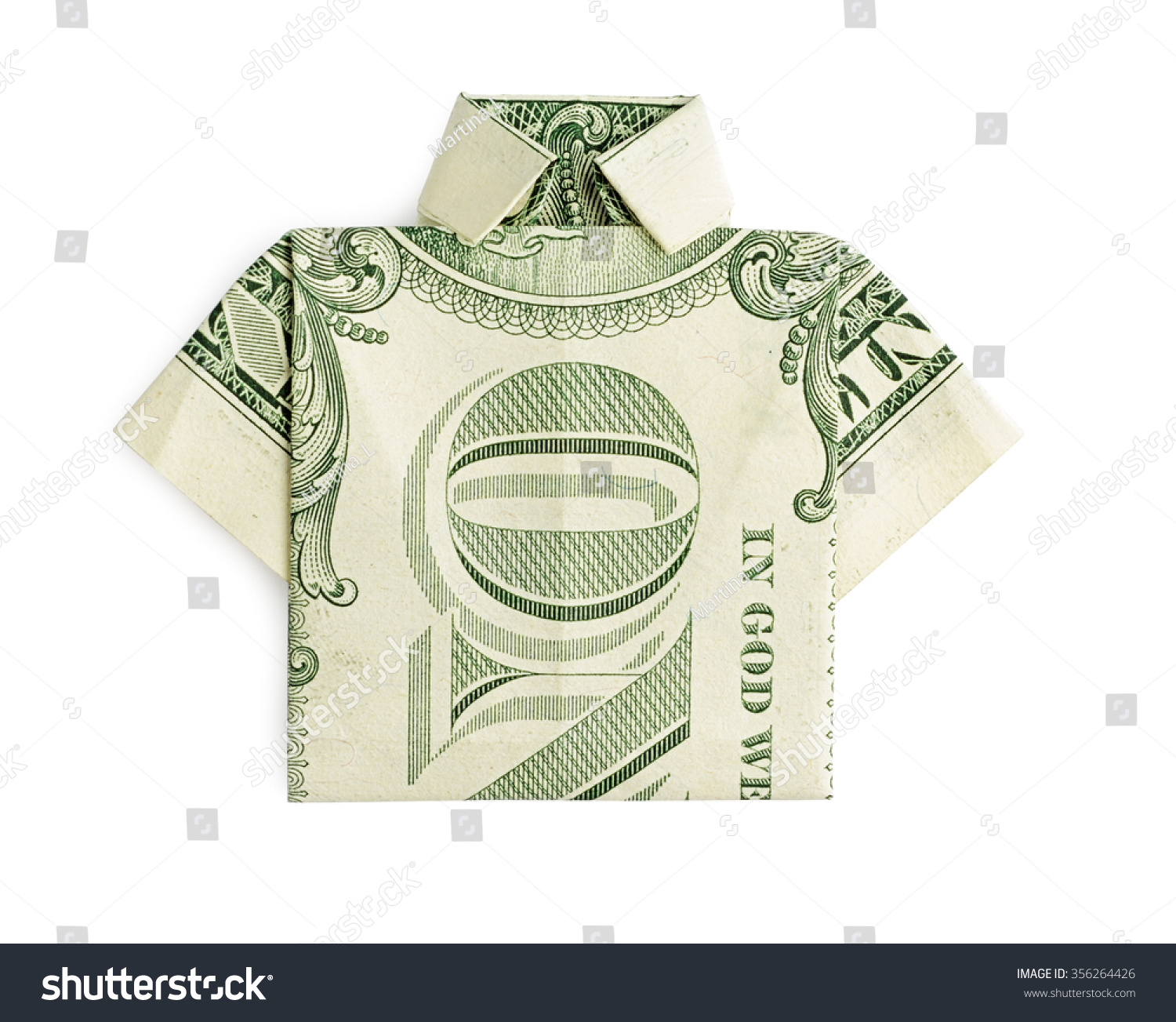 Origami Money folding: Shirt and Tie! | 1303x1500