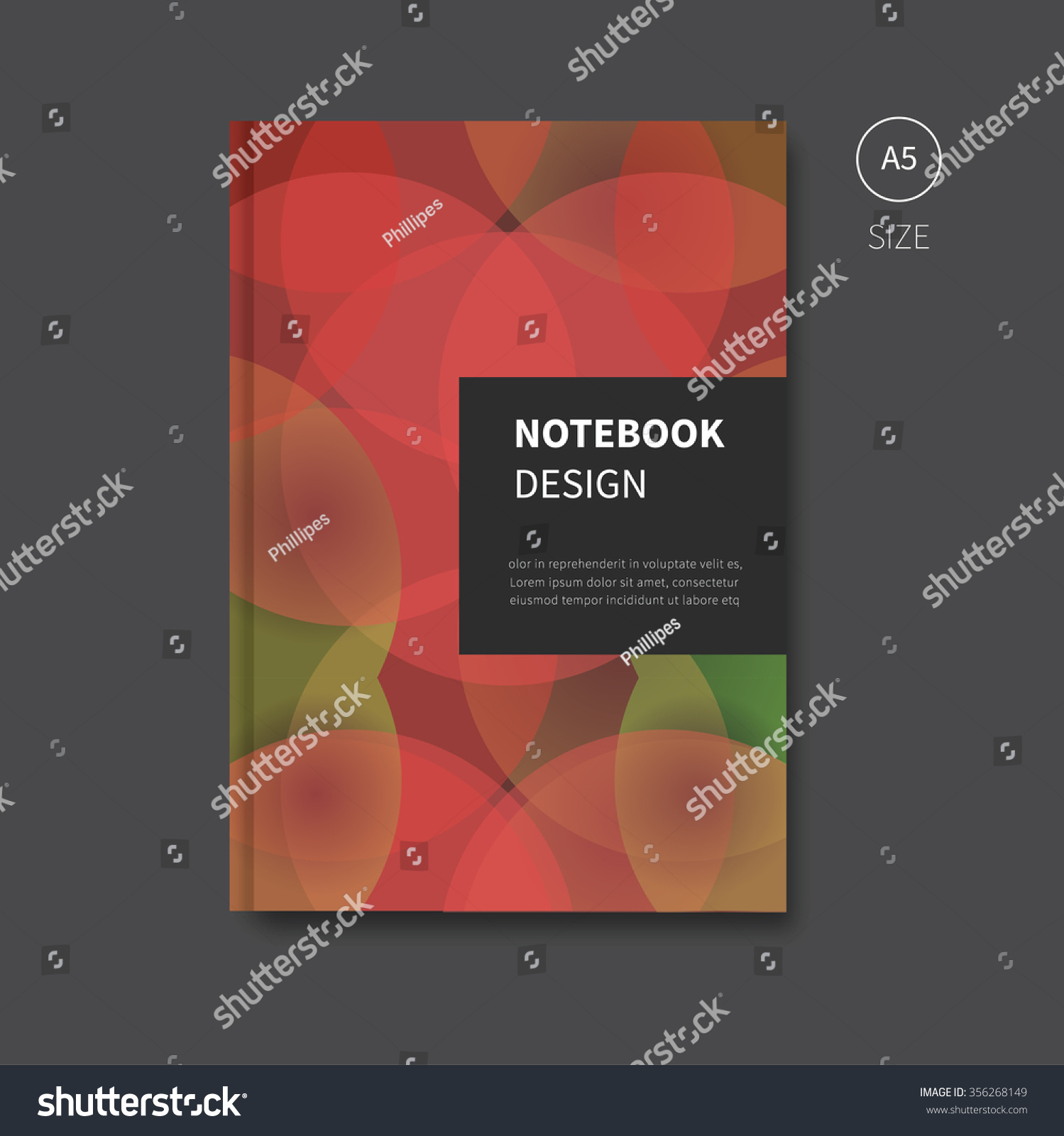 Modern Book Cover Vector : Modern scrapbook book cover layout background stock vector