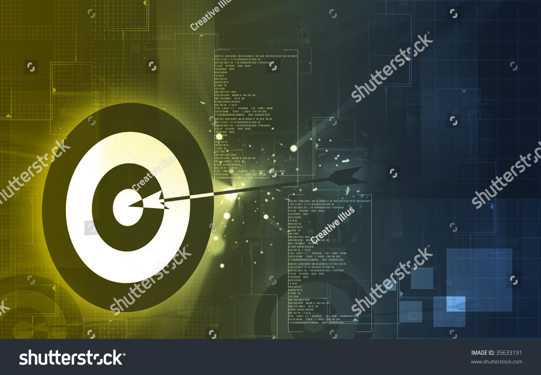 Illustration symbol target stock illustration 35633191 shutterstock illustration of a symbol of a target buycottarizona Image collections