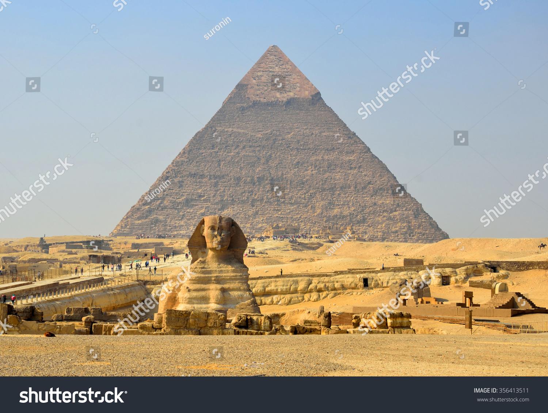 20 Meters High : Giza egypt december great sphinx is meters