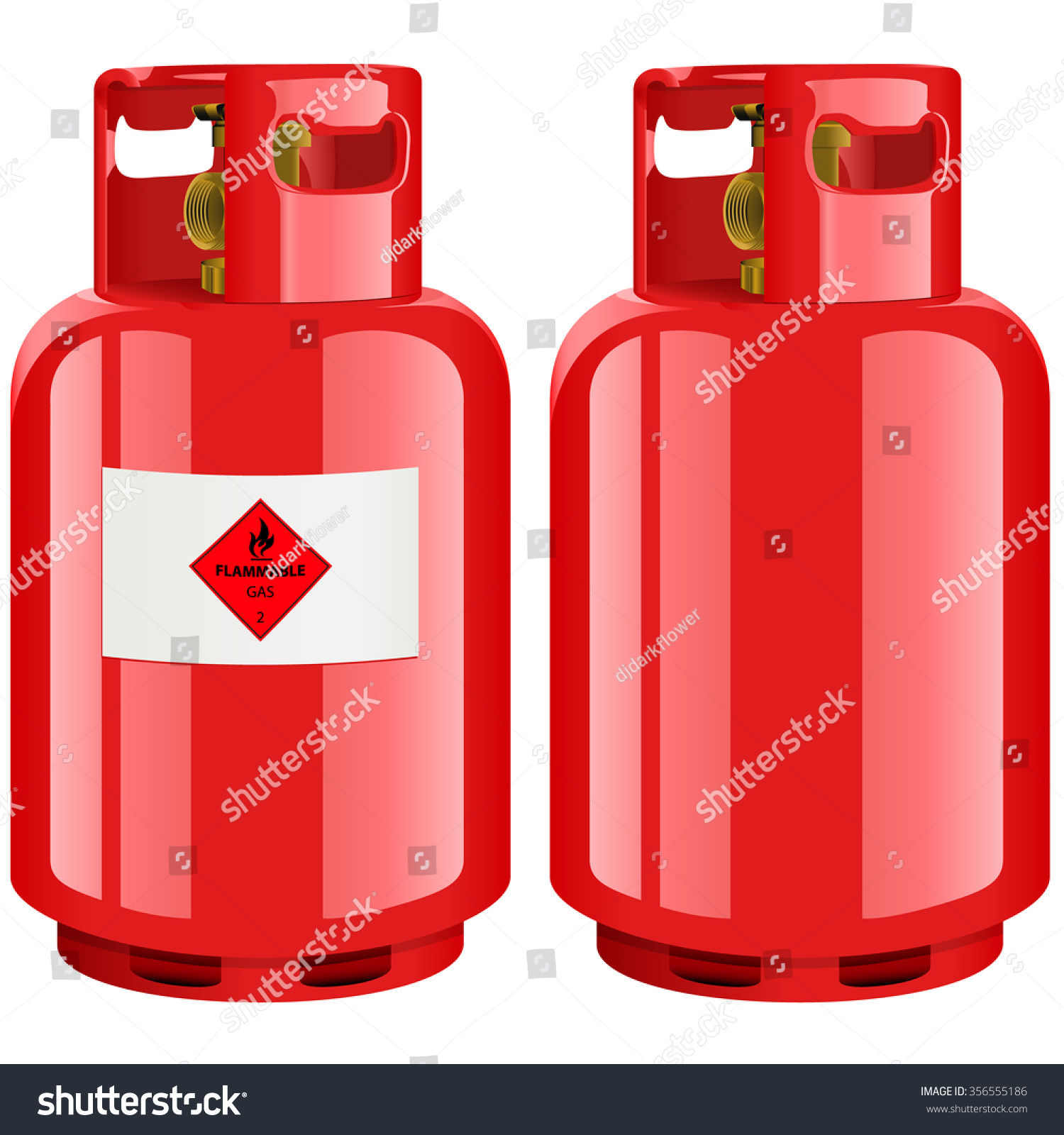 propane gas cylinder vector illustration stock vector 356555186 shutterstock. Black Bedroom Furniture Sets. Home Design Ideas