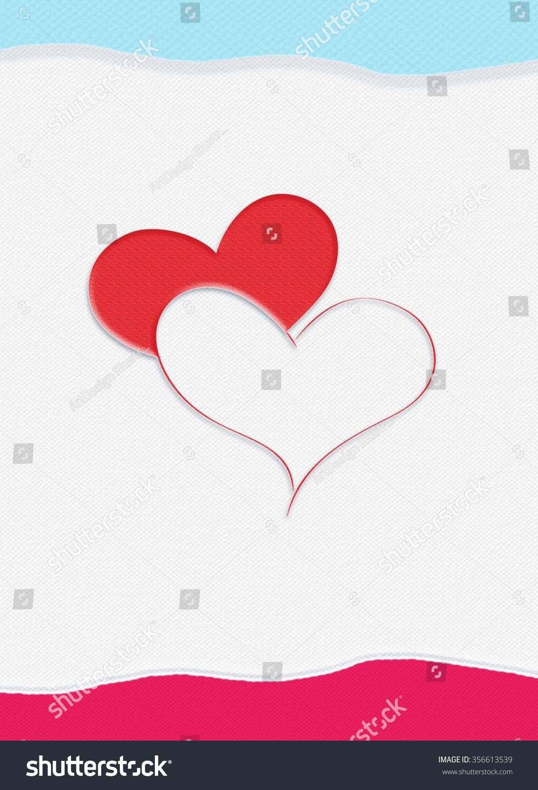 Valentine Day Greeting Cards Valentine Card Stock Illustration