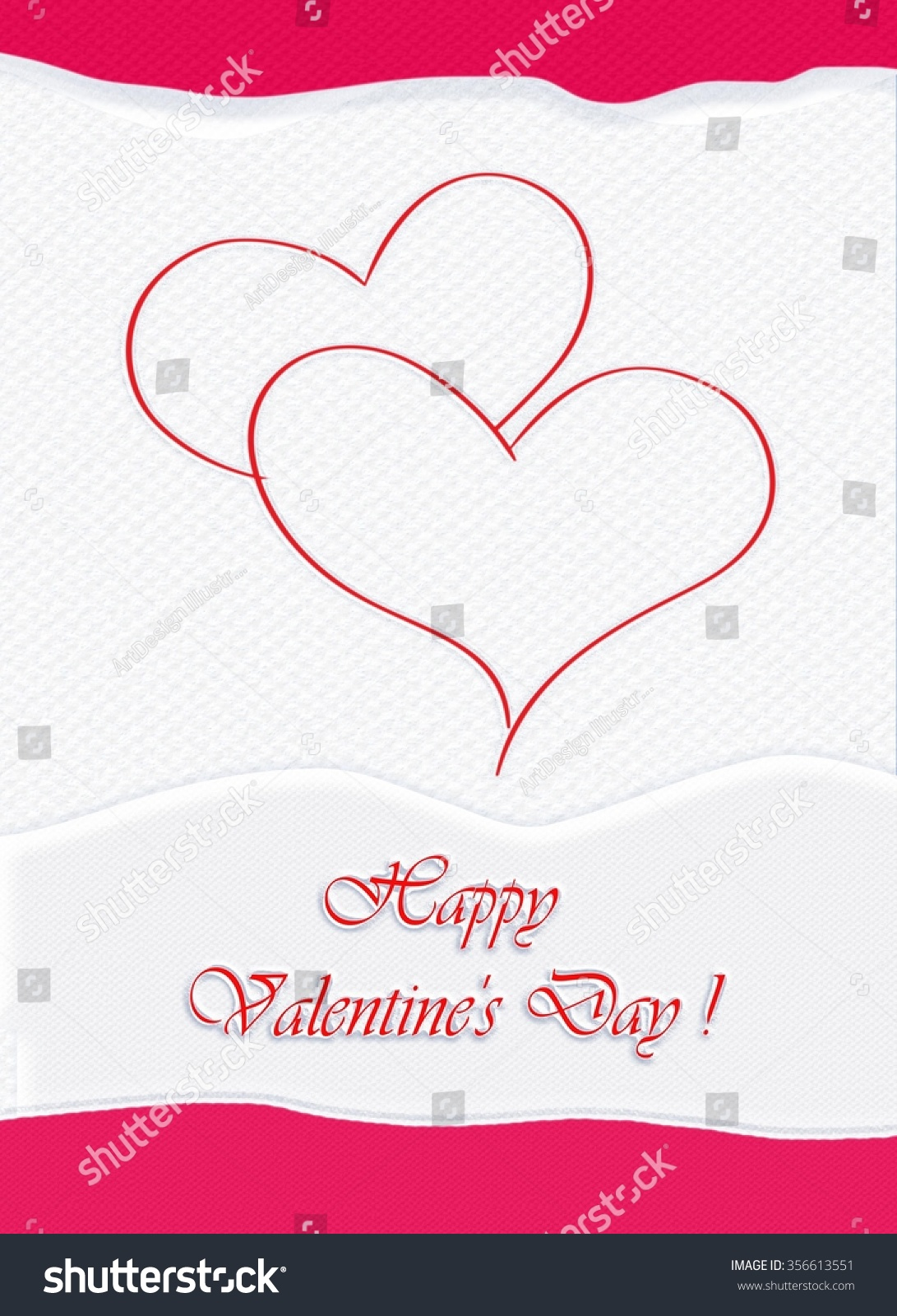 Valentine Day Greeting Cards Valentine Card Stock Illustration