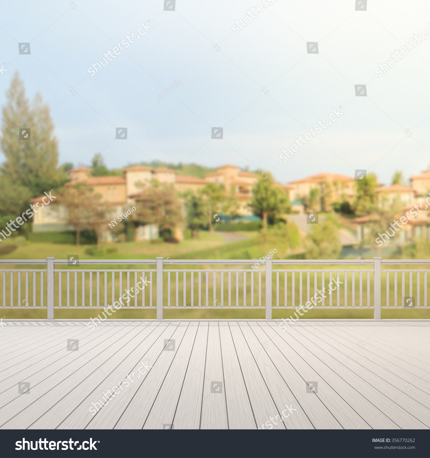 Balcony terrace blur exterior background stock photo for Exterior background