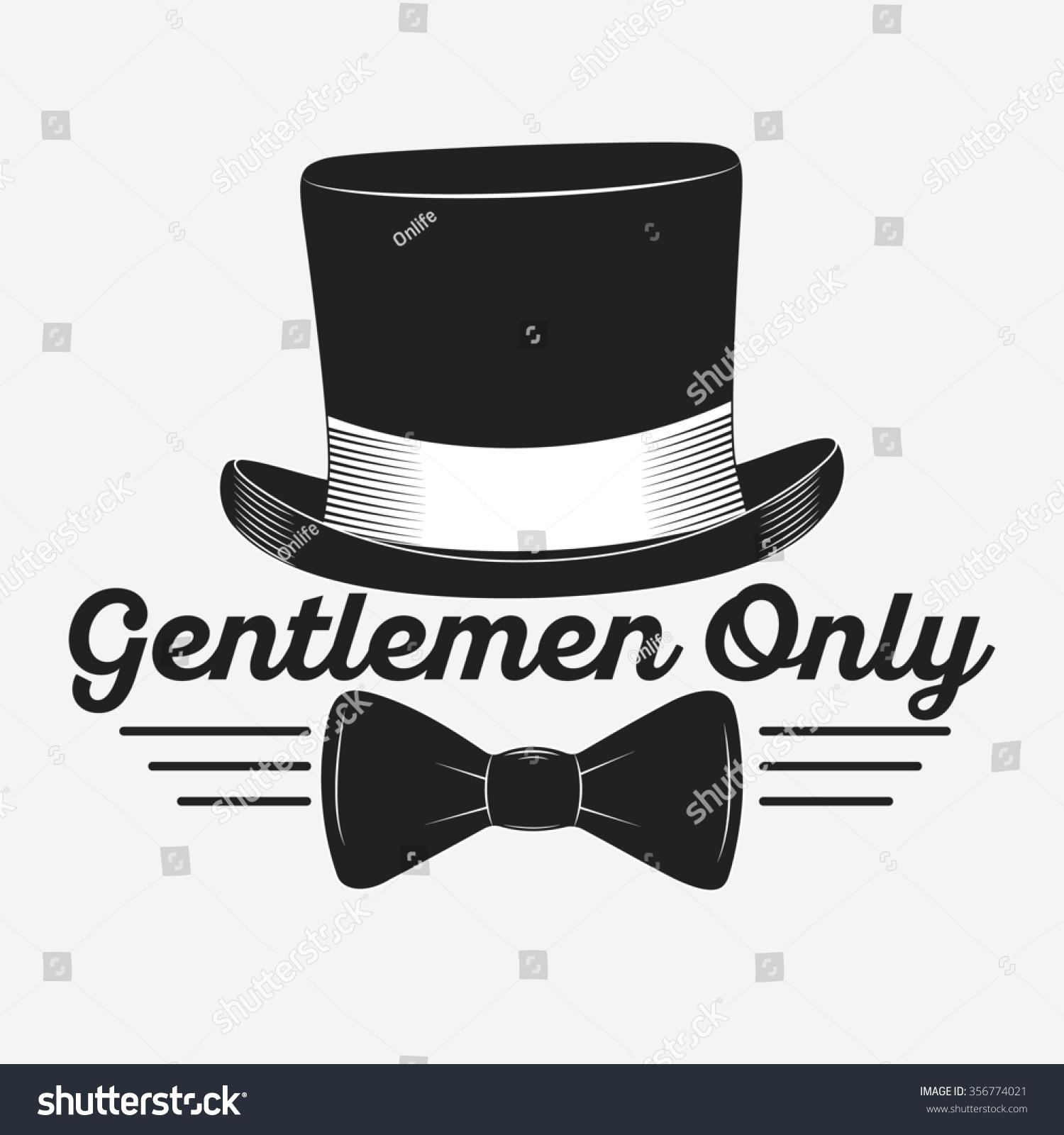 vintage gentlemen club logo gentlemen label stock illustration 356774021 shutterstock. Black Bedroom Furniture Sets. Home Design Ideas