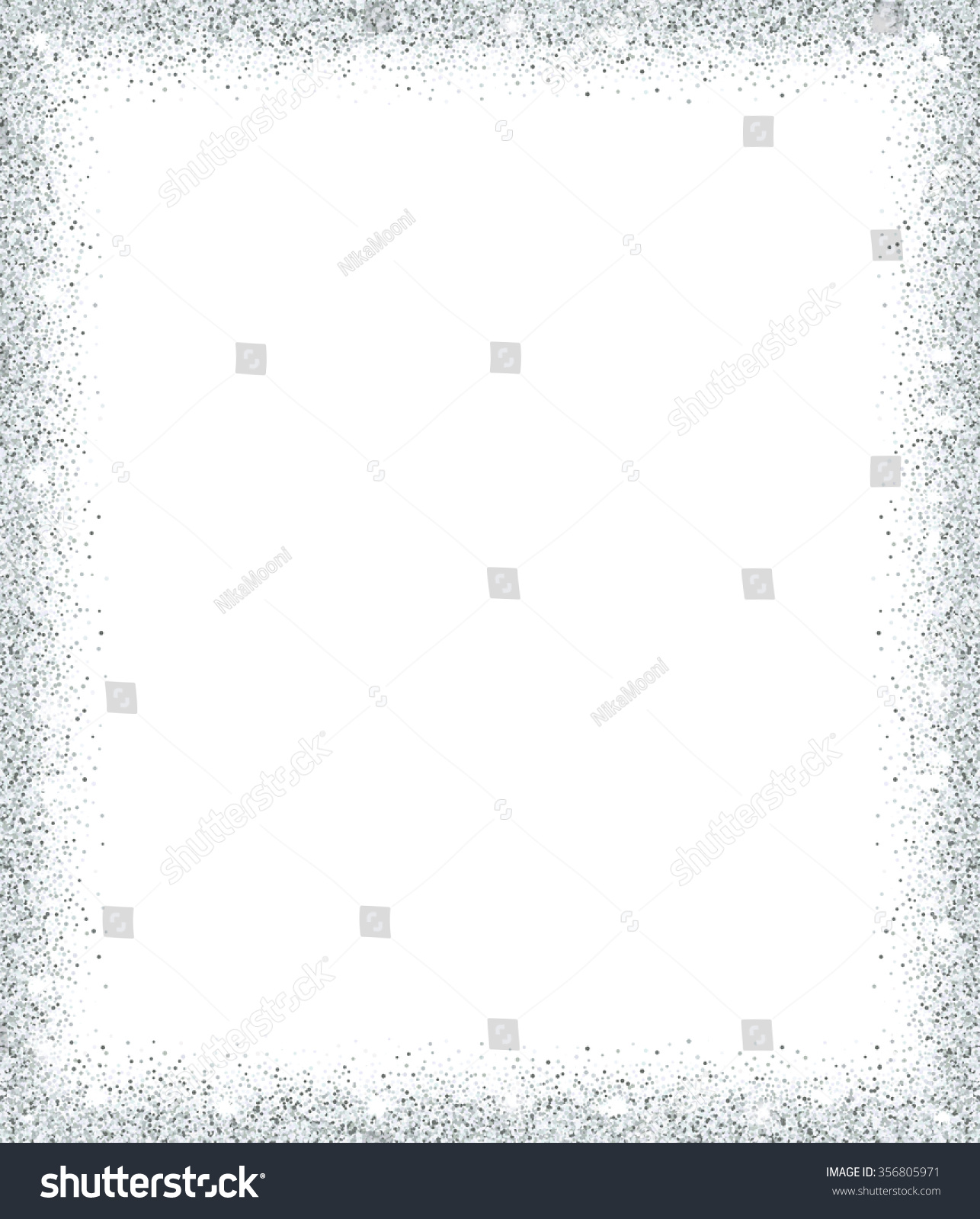 silver glitter background silver sparkle frame stock vector silver glitter background silver sparkle frame template for holiday designs invitation party